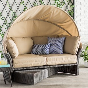 outdoor couch seagle daybed with cushions TKYDQKX