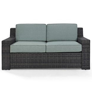 outdoor couches linwood loveseat with cushions SLQNUPF