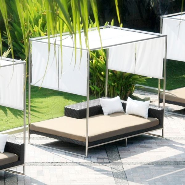 outdoor daybed with canopy GHPONSG