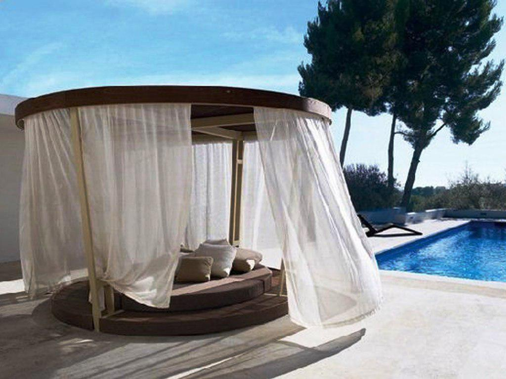 outdoor daybed with canopy walmart DOVKMVF