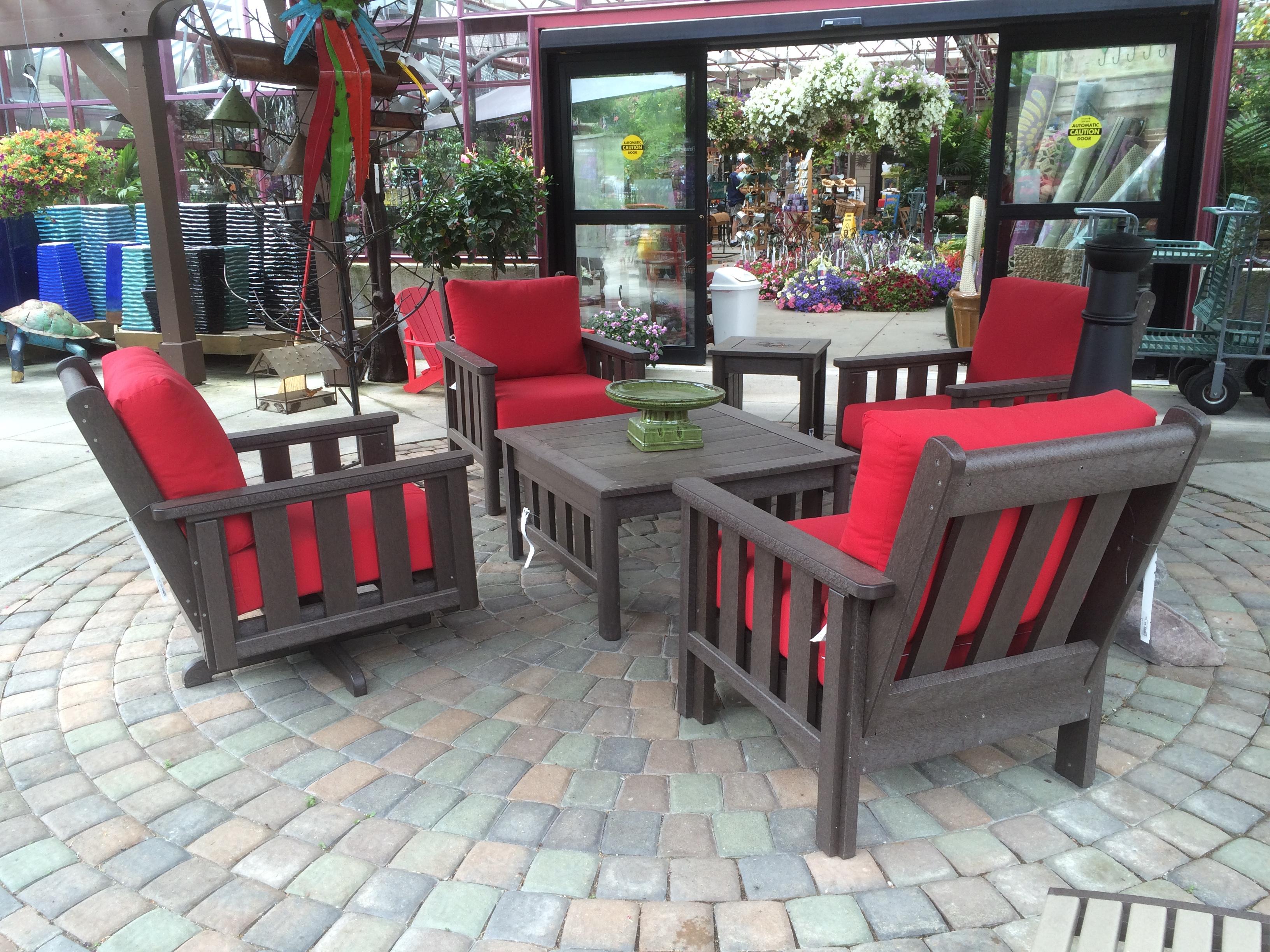 outdoor decor patio set PWYUVZF