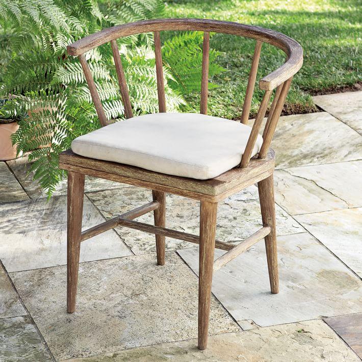 outdoor dining chairs dexter outdoor dining chair   west elm XUYKWCB