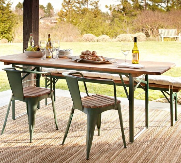 outdoor dining table 5 favorites: folding outdoor dining tables NEUZNTL