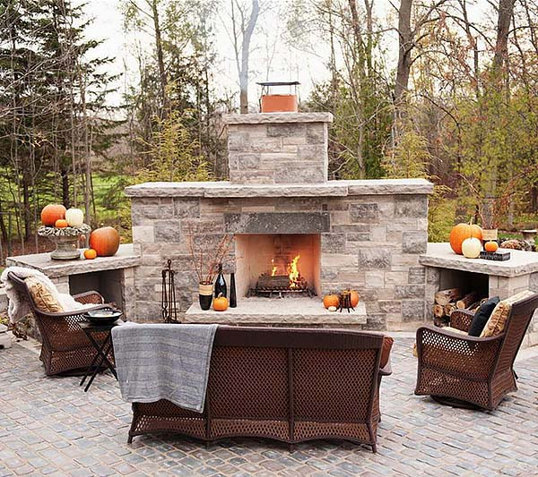 outdoor fireplace designs-34-1 kindesign QTOUFZF