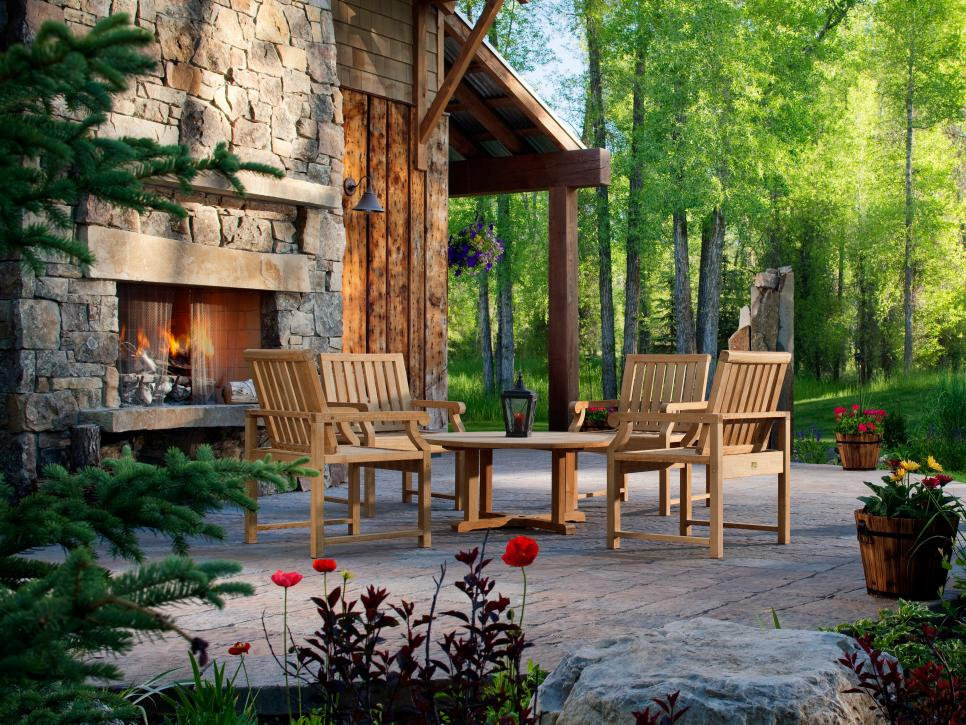 outdoor fireplace designs shop this look KQHCMFU