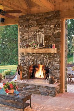 outdoor fireplace ideas 10 fireplace ideas ~ an outdoor fireplace would be a great addition JQRPSAI