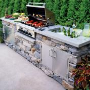 outdoor kitchen ideas 10 smart ideas for outdoor kitchens and dining VYQCULS