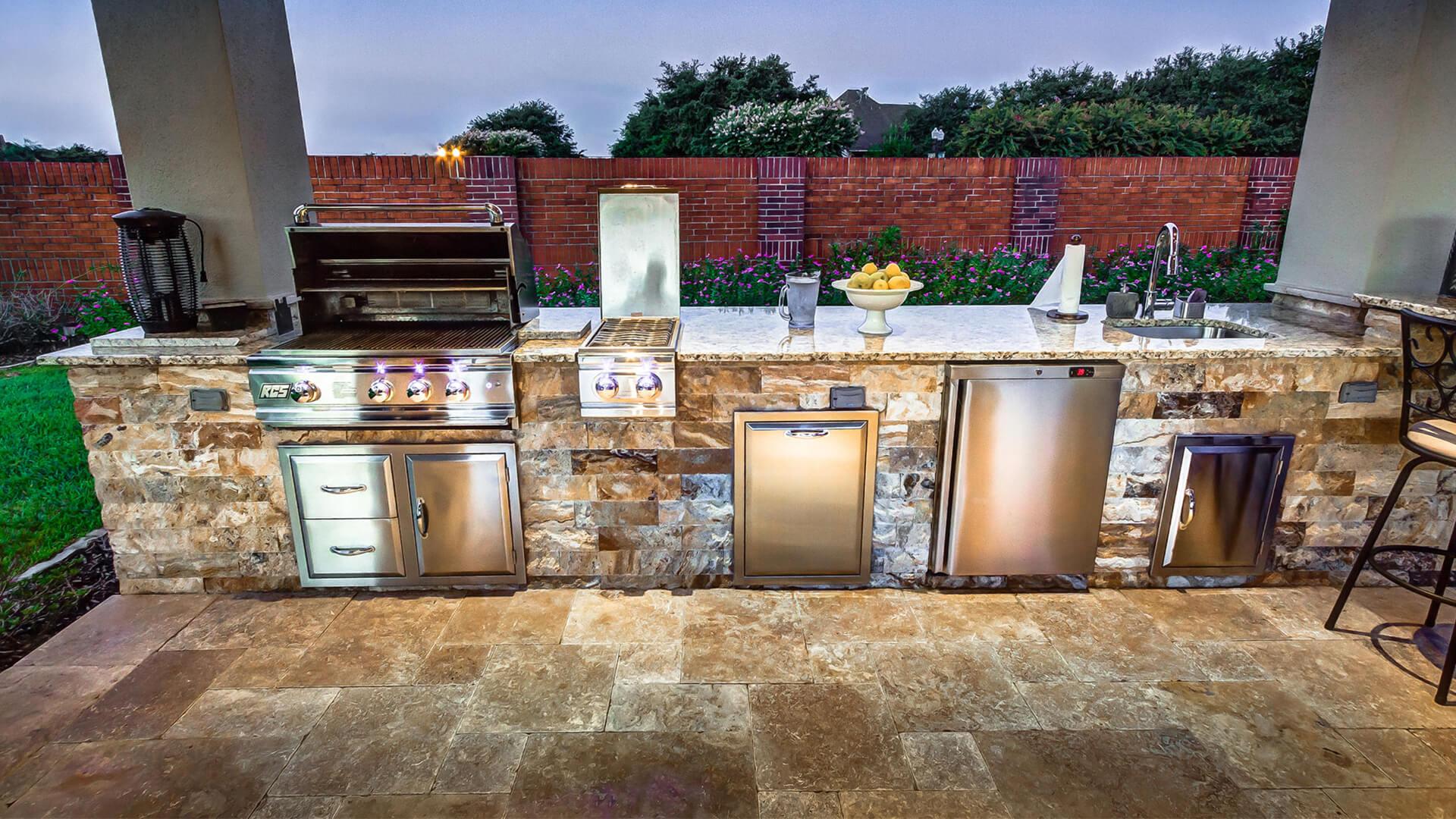 outdoor kitchen next level outdoor grilling XHRJBGU