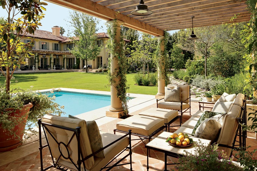 outdoor living ideas patio and outdoor space design ideas photos | architectural digest OLGDPJN