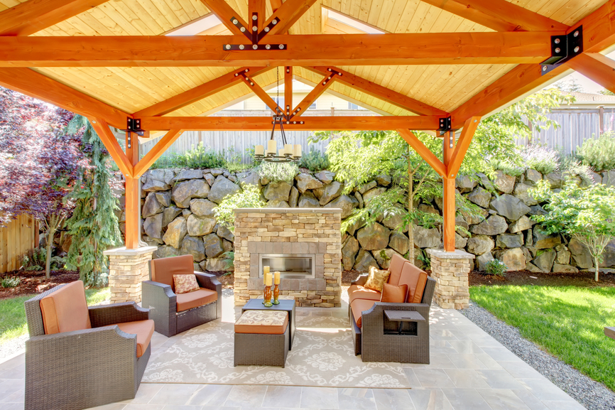 outdoor patio 31 patio fireplaces creating outdoor living room spaces XKTUWDJ