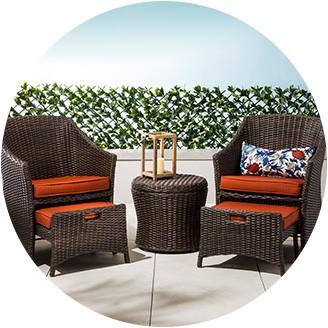outdoor patio furniture sets small-space patio furniture OQULQIA