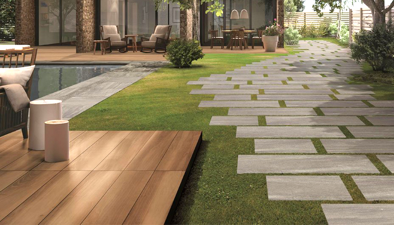 outdoor pavers outdoor porcelain tiles - the new outdoor paving option HQTKYSQ