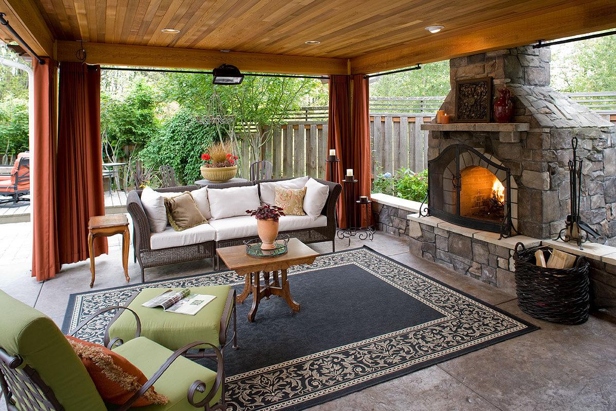 outdoor room 5 gorgeous outdoor rooms to enhance your backyard IMHJIFA