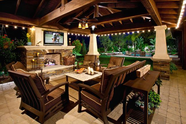 outdoor rooms/patio covers mediterranean-patio DLGKZLD
