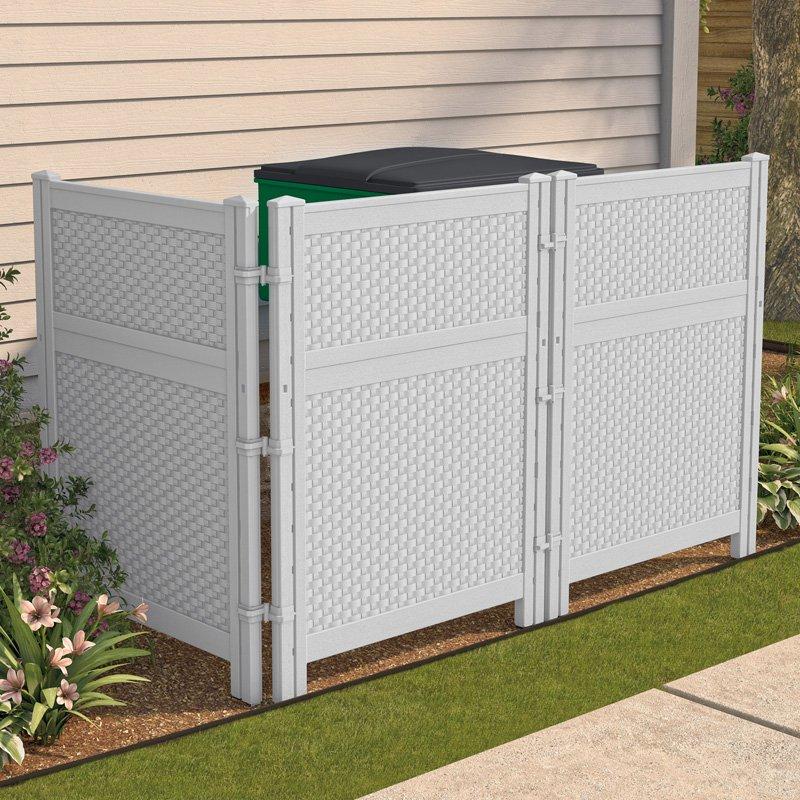 outdoor screens suncast reversible outdoor single panel screen enclosure | hayneedle JSFYXVG