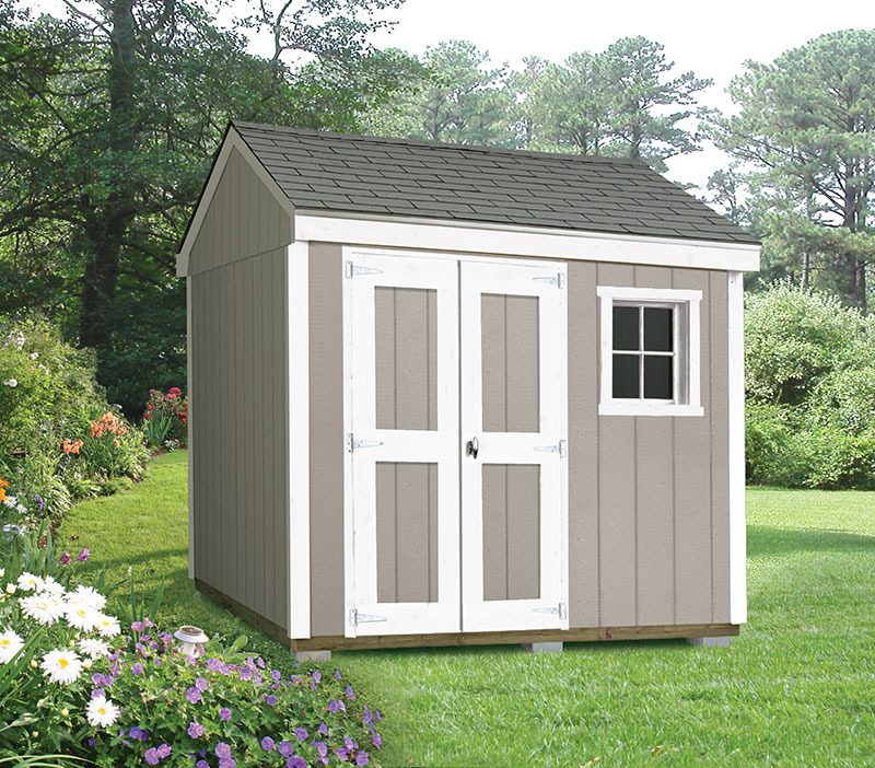 outdoor sheds delivered. built. guaranteed. PRQVNTC