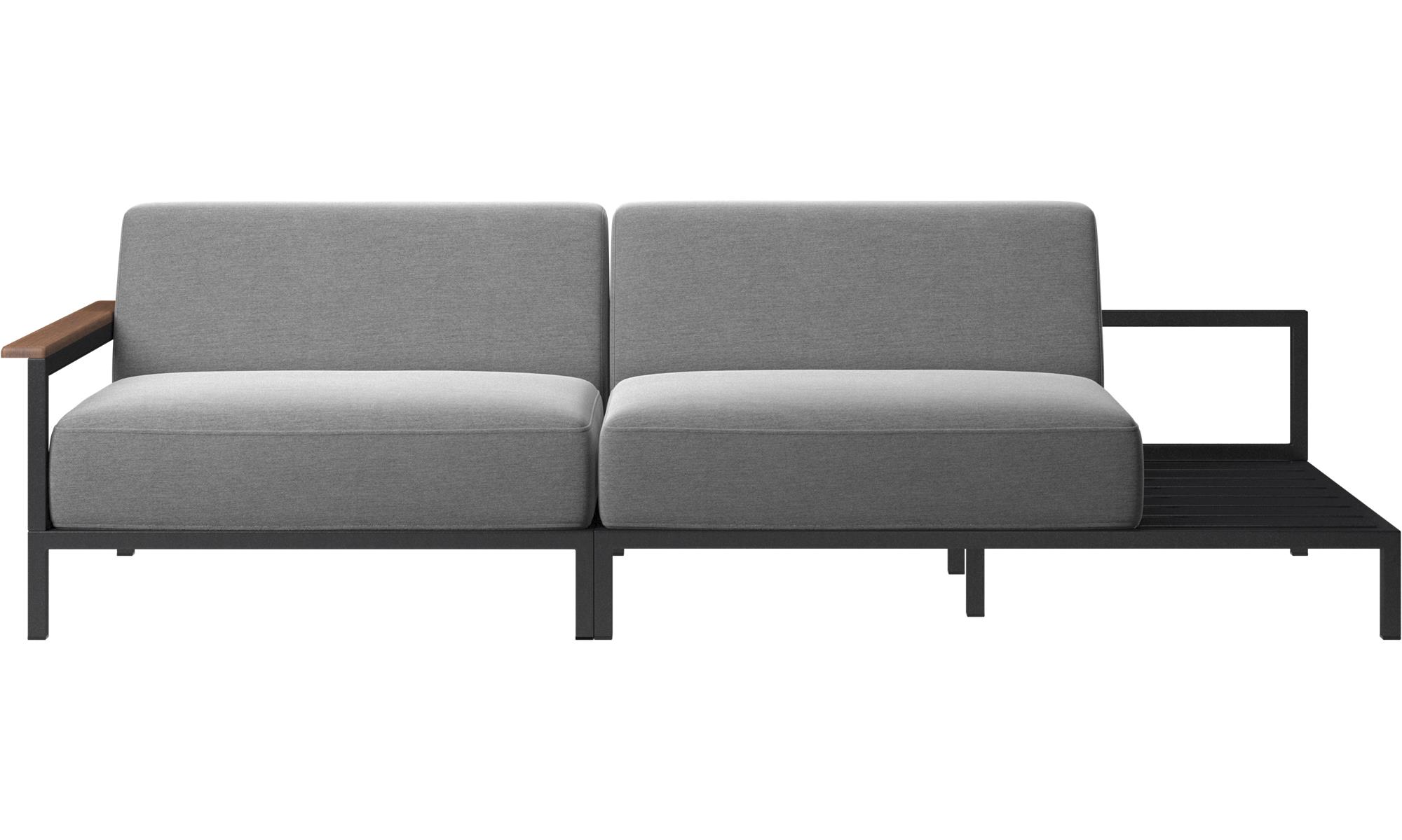 outdoor sofas - rome outdoor sofa - gray - fabric ... YTYRBZT