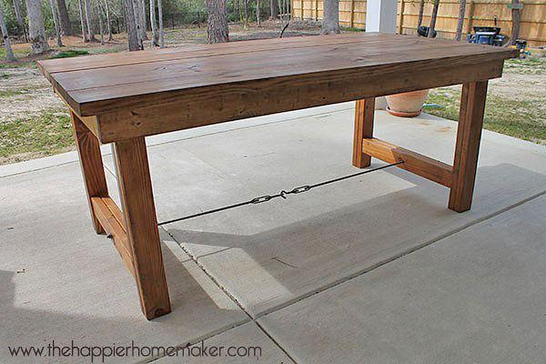 outdoor table diy outdoor dining tables-2 HUIYTUR
