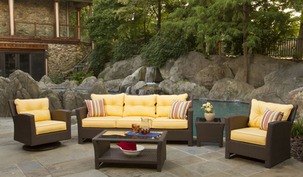 outdoor wicker furniture outdoor wicker sets | sonoma MHWULVX