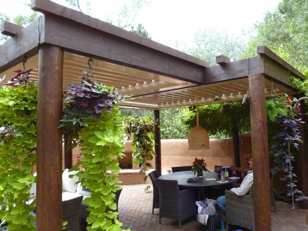 patio awnings equinox louvered roof - rader awning SAVXBRC