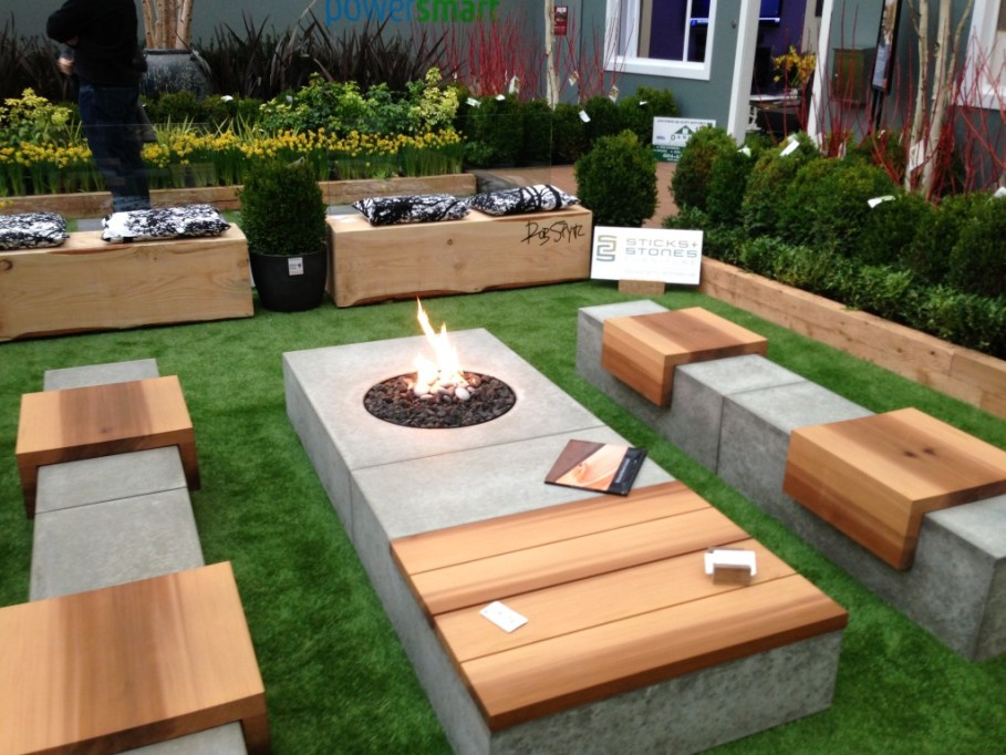 patio benches brilliant concept of diy patio bench made of concrete also wooden material MBYEFAB