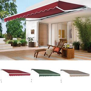 patio canopy image is loading patio-awning-canopy-retractable-deck-door-outdoor-sun- MAEPKPT