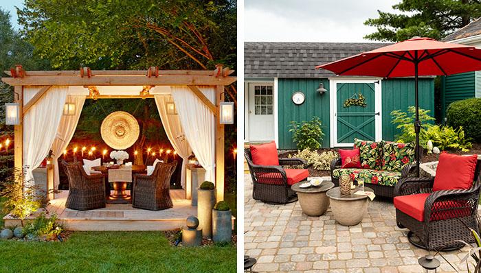 patio decor deck and patio decorating and outdoor decor VENKBFQ