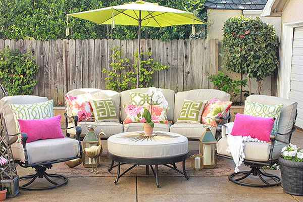 patio decorating ideas for entertaining and family fun MTHFZPC