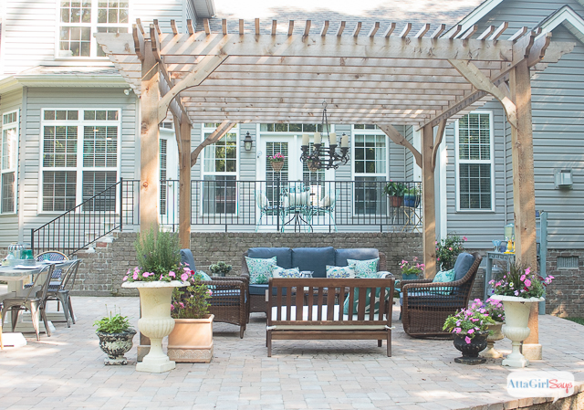 patio decorating ideas see how we transformed our boring back yard with ILQFCLL