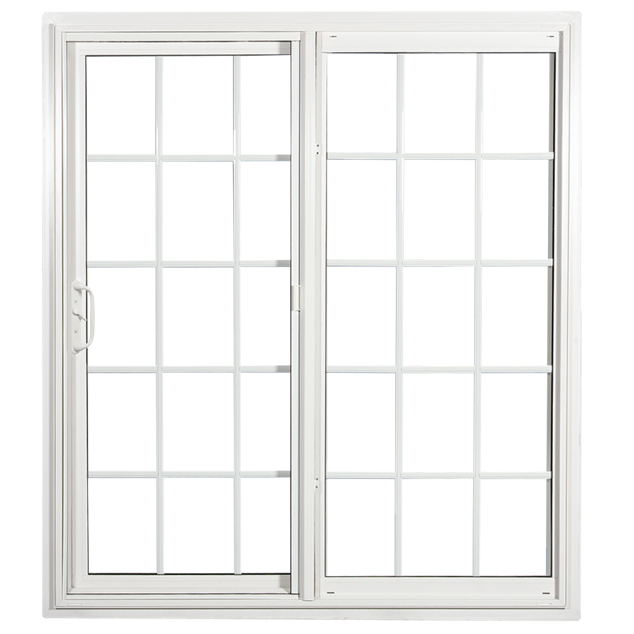patio doors display product reviews for 70.75-in x 79.5-in grilles between the glass OQUJMEU
