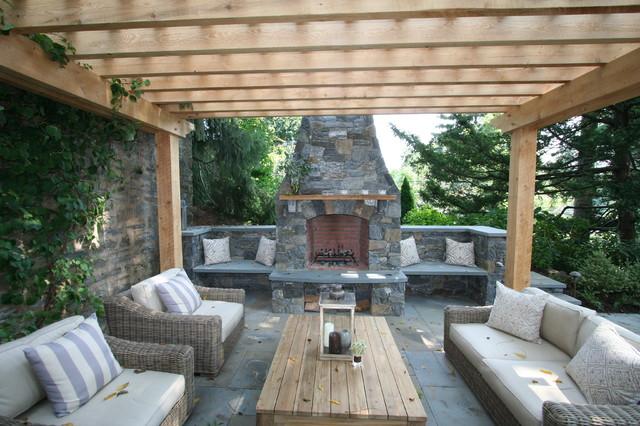 patio fireplace fireplace, patio, pergola traditional-patio QOFVNMC