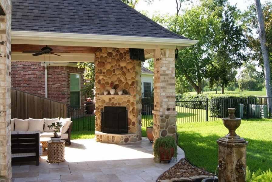 patio fireplace popular covered patio corner fireplaces ideas | creative fireplaces design  ideas JQCVXHF