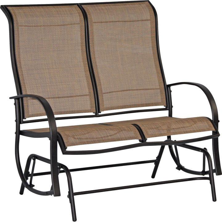 patio glider love seat ZQPJYCL