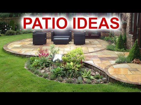 patio ideas - beautiful patio designs for your backyard FUNNNXW