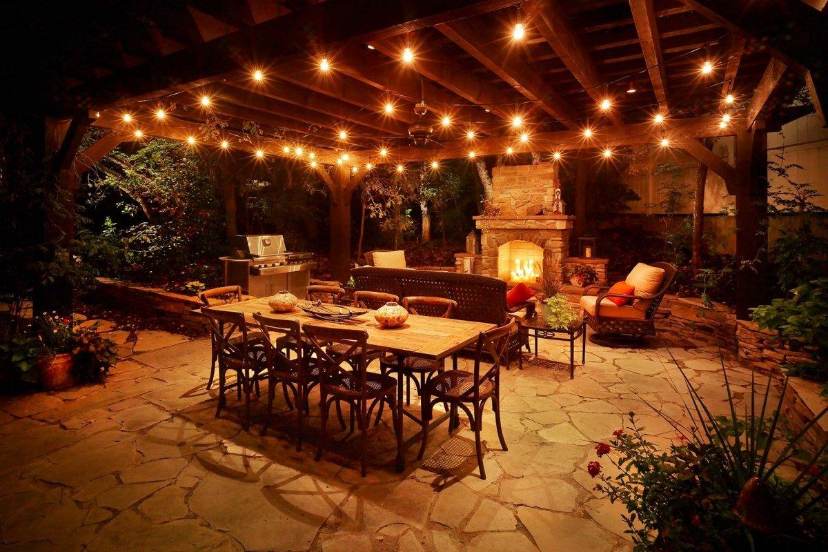 patio lighting ideas IDLMOGF