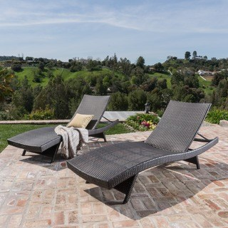 patio lounge chairs oliver u0026 james baishi outdoor lounge chairs (set of ... HEQCWUY