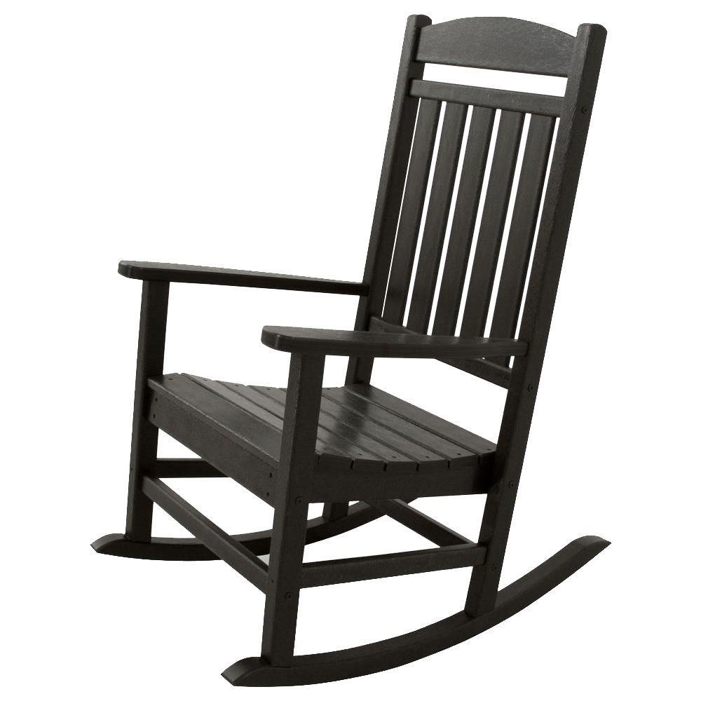 patio rocking chairs classics black patio rocker ZEMAXUJ