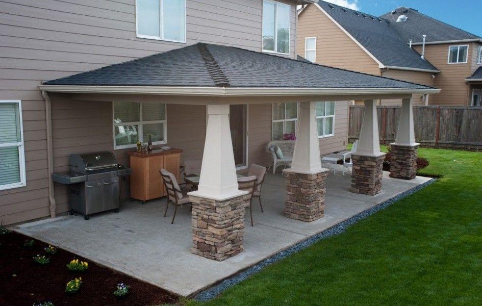 patio roof ideas plan SAFKXCI