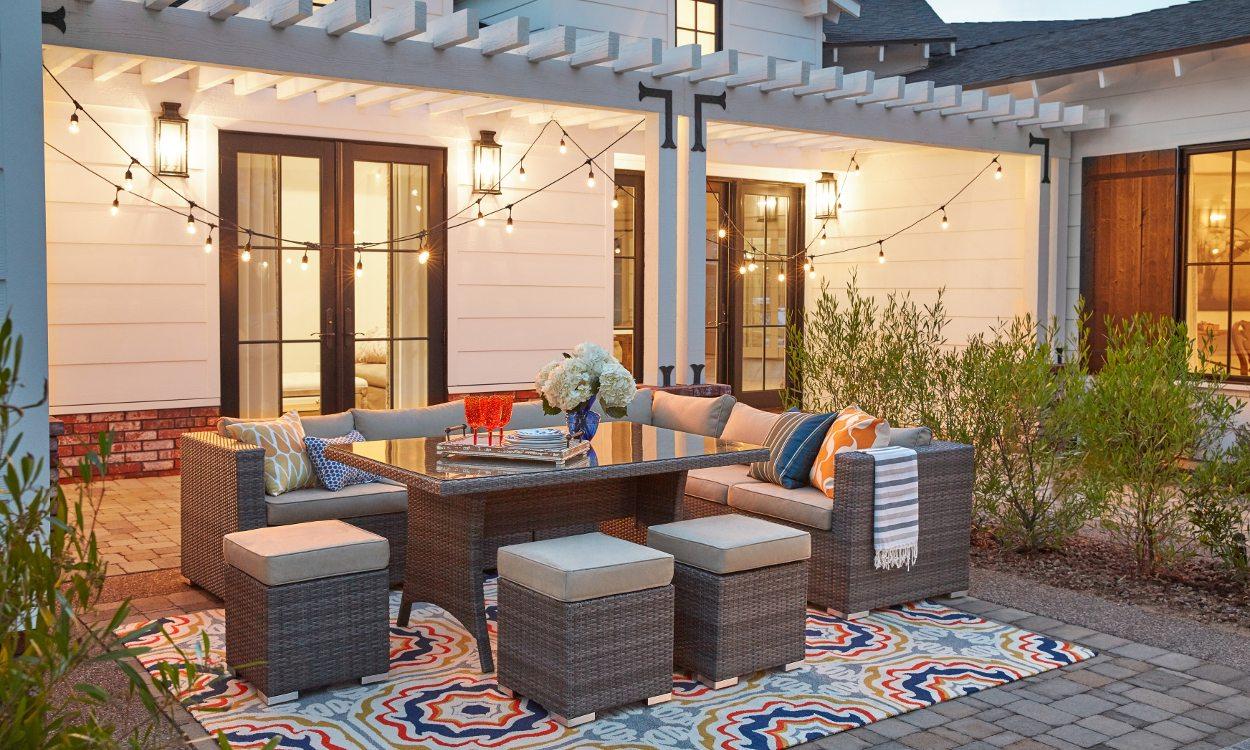 patio rug how to keep outdoor area rugs looking new TRPKFUF