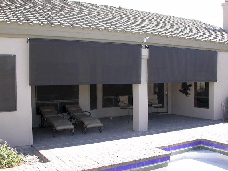 patio shades roll down shades for patios PAWOXZG