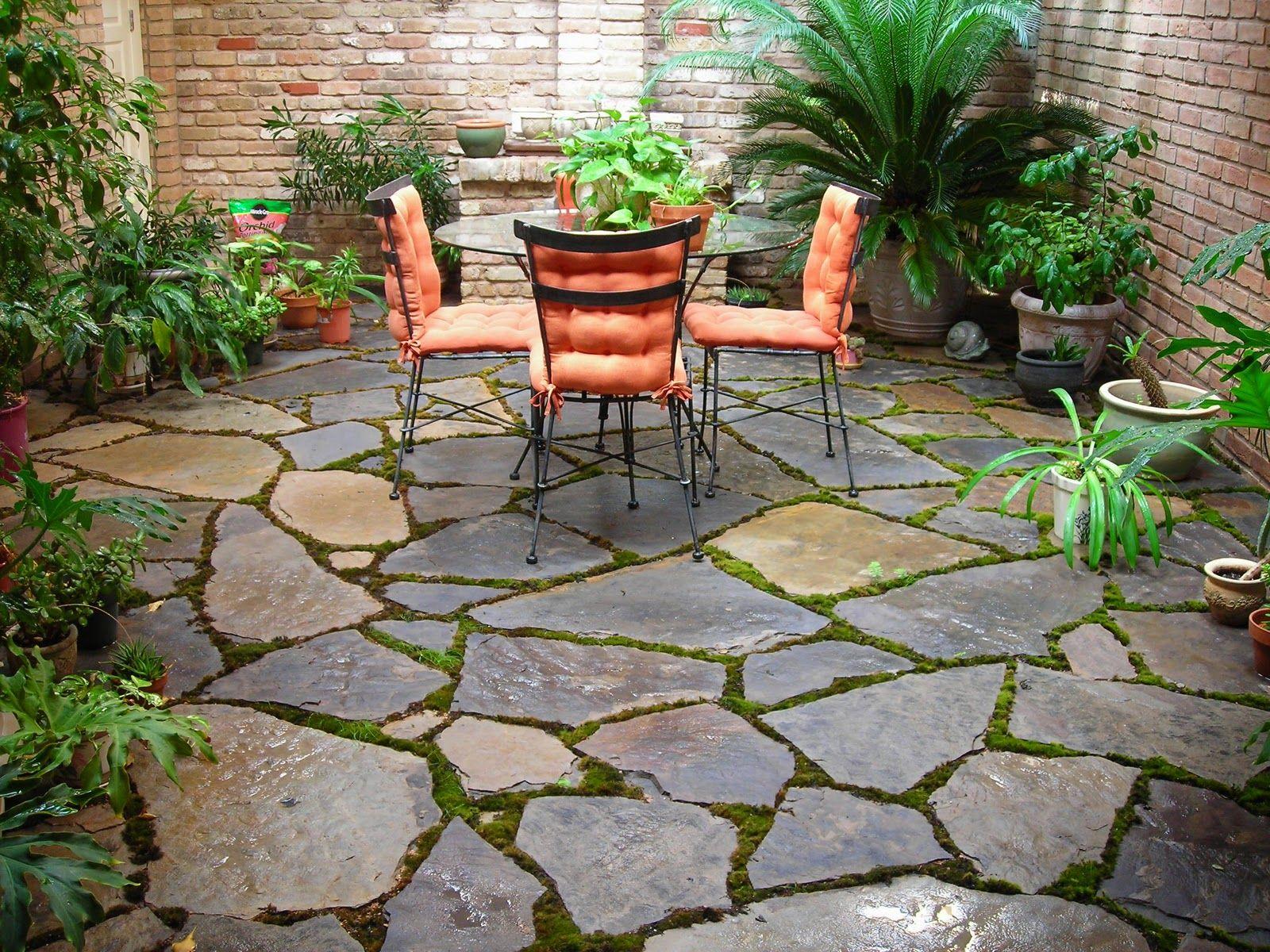 patio stones natural QNRHXKC
