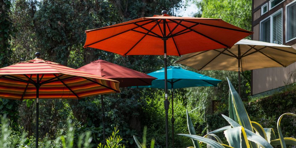 patio umbrellas the best patio umbrella and stand KGDOKLP