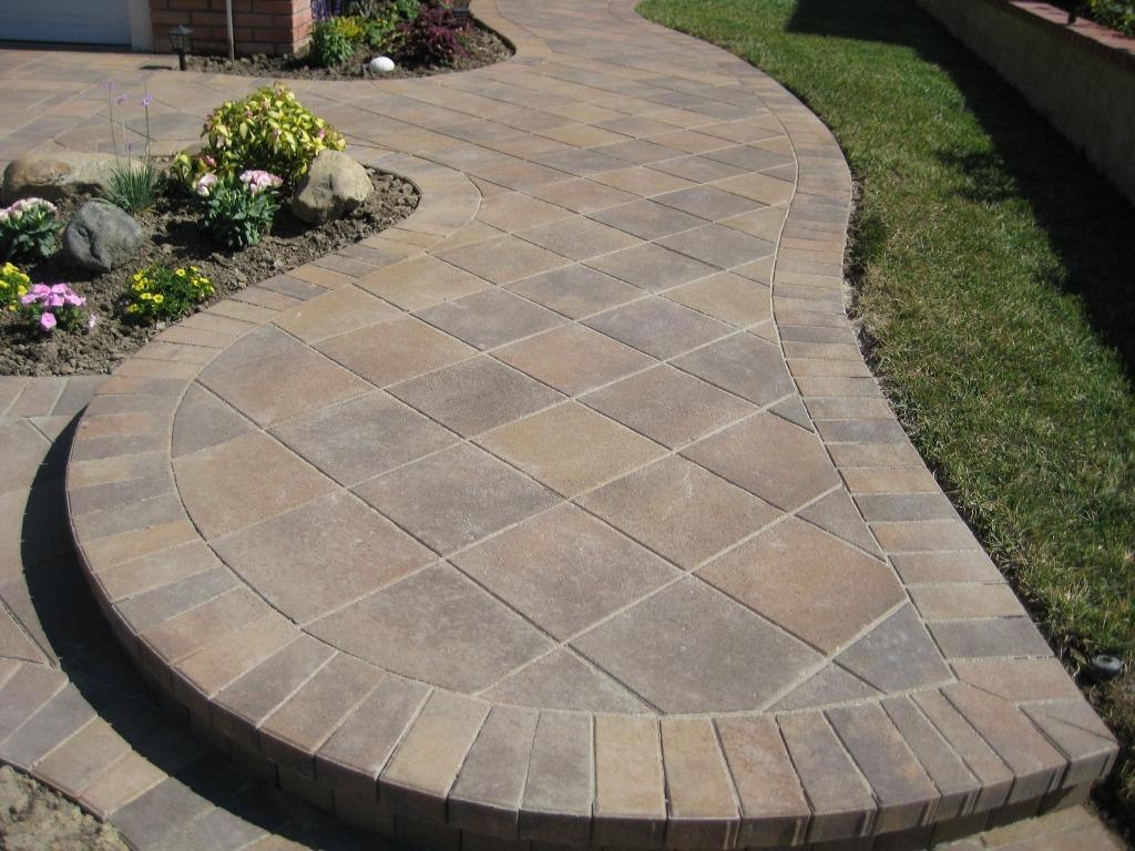 paver patio ideas 45 degree laying pattern (paver design ideas) MOXNGQA