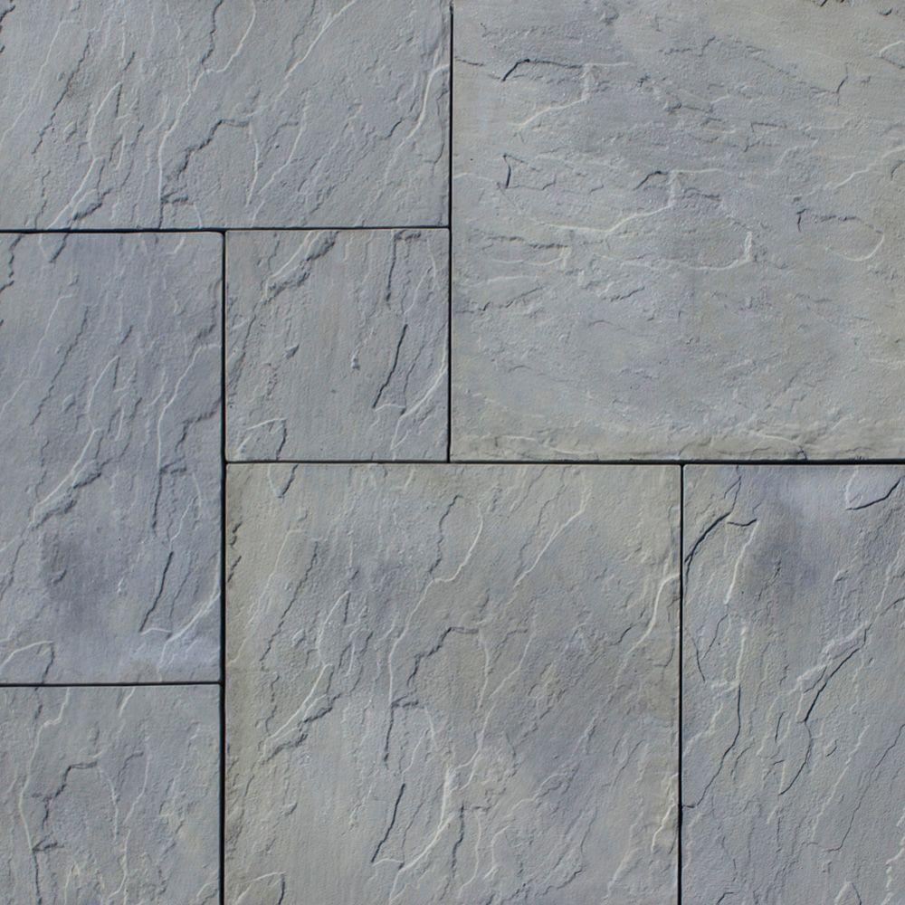 paver stones nantucket pavers patio-on-a-pallet 120 in. x 120 in. SPNPZYB