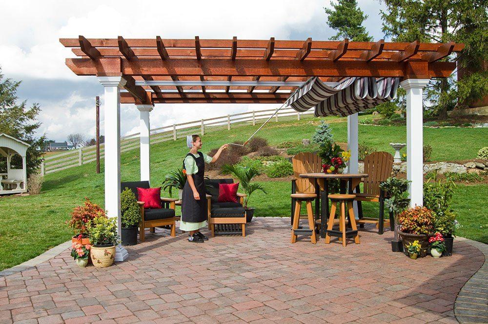 pergola canopy pergola shade canopy   country lane gazebos POXFADX