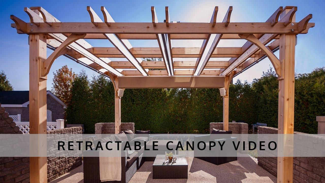 pergola retractable canopy | outdoor living today YIUHVPN