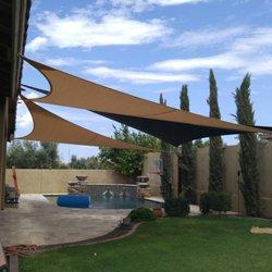 photo of arizona shade sails - gilbert, az, united states. residential pool DEWOBRF