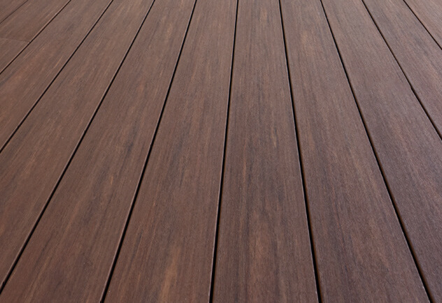 plastic decking capped polymer decking ZWDEFBR