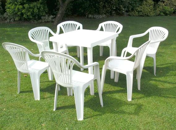 plastic furniture plastic garden table outdoor plastic chairs clever ideas outdoor plastic  furniture CYADWWT