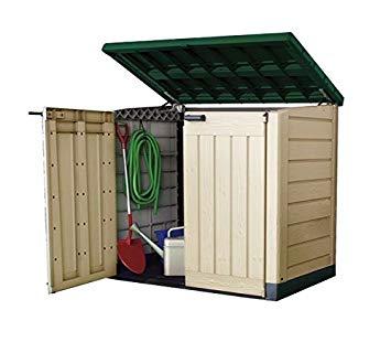 plastic garden shed keter plastic storage unit box garden shed outdoor sheds for wheelie bins NOPYKVF